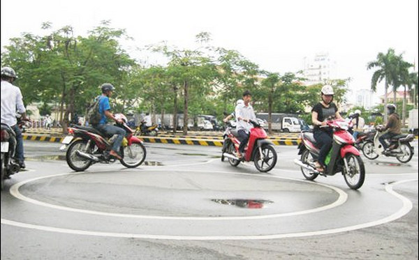 thi bằng lái xe máy quận nam từ liêm