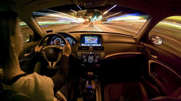 dạy lái xe ô tô vào buổi tối